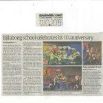 Billabong School Celebrates its 10 Anniversary