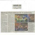 Billabong School Celebrates its 10 Anniversary