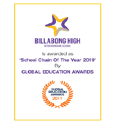 Global Education Awards 2019 awarded BHIS 'School Chain of the year 2019'