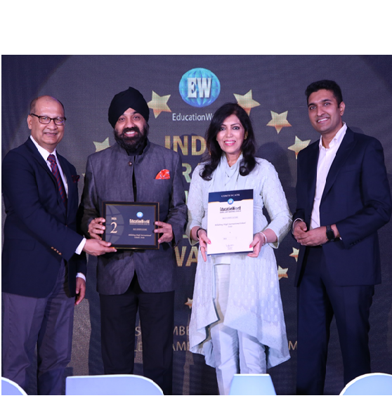 BHIS awarded for #2nd Rank in 'Multi-Sports Culture' out of 1.5 million schools in India by EW Survey 2019